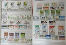 GB Stamps 1980-1981 – 17 Used Commemorative Sets (65 Stamps)