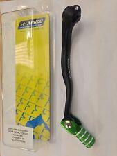 KAWASAKI KX 250 KX250 06-08 Apico Forgiato Pedale Leva del cambio nero con punta verde