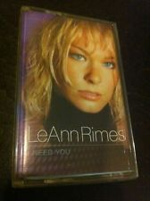 Leann Rimes I Need You Cassette tape Can't Fight the Moonlight from Coyote Ugly