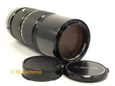 CANON FD 80-200MM F4 S.S.C. ZOOM LENS *VERY GOOD CONDITION*