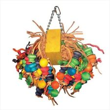 New listing A&E Cage Hb143 Medium Cluster With Hanging Wood Balls