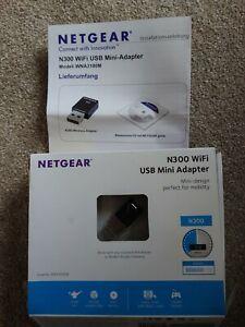 NETGEAR N300 Wireless Mini USB WiFi Adapter - WNA3100M