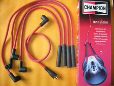 HONDA PRELUDE 2.0i 12v SOHC (1987-92) NEW RED TRIPLE SILICONE IGNITION LEADS