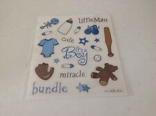 Baby Boy Cute ASSORTMENT stickers/Great for Borders