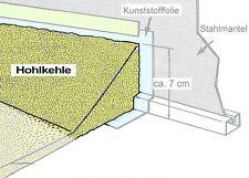 Styroporkeile Styropor Keil Hohlkehle Innenfolie 100x13,5x5 cm Pool Stahlwand