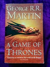 A Game of Thrones: A Song of Fire & Ice Book #1 by George R.R. Martin (Fantasy)