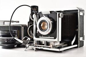 【EXC+5】 Horseman 760 Medium Format, 2 Lens, 6x9 6x7 Holder, meter From Japan 711