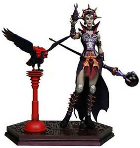 """NECA MASTERS of the UNIVERSE EVIL LYNN villain 7"""" figure toy, He Man OPENED!"""