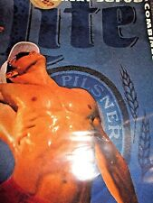 20 x 30 New Old Stock 1991 MILLER LITE Beer VOLLEYBALL AVP Promo Unframed POSTER