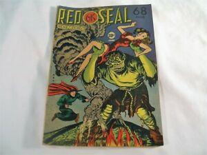 Golden Age Comic Book, Red Seal Comics #19 June 1947