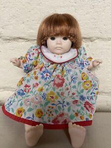 Cloth Doll By Pauline Bjonness Jacobsen Kate Finn .1980s VGC