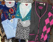 Gap, Tehama, Talbots & Merona LOT 4 Women Medium Cardigan Sweaters (LOT LCM 22)
