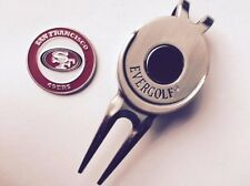 Nfl San Francisco 49ers Golf Ball Marker and Magnetic Divot Tool