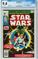 Star Wars #1 CGC 9.4 WHITE PAGES! 1977 Marvel Comics