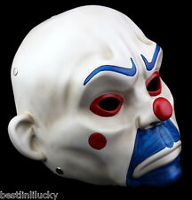 New Resin Joker Bank Robber Mask Clown Batman Dark Knightprop masquerade