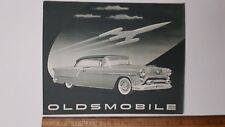 "1954 OLDSMOBILE  ""Green Tone"" - Original Dealer Sales Folder - Brochure - (US)"