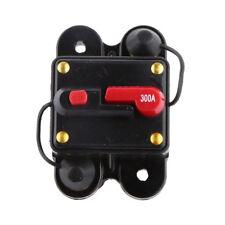 Waterproof 300 Amp Manual Reset Circuit Breaker 12v/24v Car Auto Boat Fuse