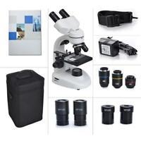 Wissenschafts Mikroskop 40X-800X Laptop Binokular Verbindungs Student Learn TOP