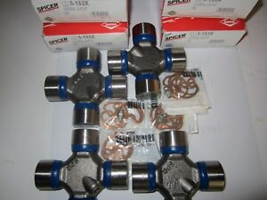 4 Dana Spicer 1310 U Joint Made In USA Greasable 5-153x Jeep Chevy set of 4