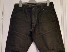 Blue Inc Black Jeans W32 L32 Regular fit Straight Leg Large Pockets