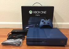 Microsoft Xbox One Forza Motorsport 6 Rare Limited Edition 1 TB Blue Console