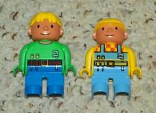 LEGO - Duplo Figures - Bob the Builder & Wendy (Green Suit) - Mini Figures