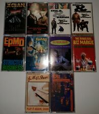 Old School Hip-Hop Cassette Tape Lot