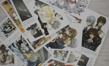 Anime 30pcs/set Vampire Knight postcard+120pcs/set min paster sticker