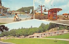 Parkers Lake Kentucky~Holiday Motor Lodge & Restaurant~Chair Lift Ride~1950s