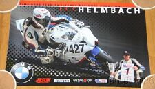 2015 Eric Helmbach Wow Racing BMW S1000RR ASRA poster
