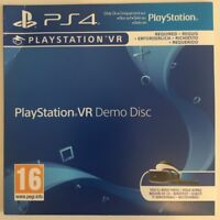 PlayStation VR Demo Disc (PS4 Game) *VERY GOOD CONDITION*