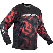 New Valken Paintball Crusade Riot 2016 Playing Jersey - Red - X-Large XL