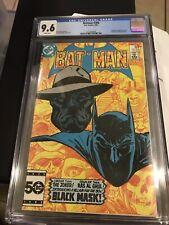 BATMAN #386 (Black Mask, Roman Sionis 1st appearance) CGC 9.6 NM Birds Of Prey!!