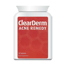 CLEAR DERM ACNE & SPOT PILLS. CLEARS ACNE, Black Heads, Pimples IN 30 DAYS!!