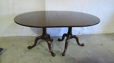 Henkel Harris Dining Room Table Set Mahogany