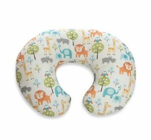 Boppy Infant Feeding Nursing Pillow Case Slipcover Peaceful Jungle Discontinued