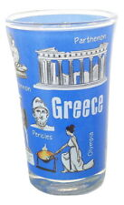 New Shot Glass Greek Greece Athens Tequila glass Parthenon Acropolis Alexander