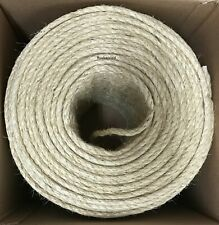 """3/8"""" X 1220' Natural Sisal Rope Cat Scratching Post Claw Control Toy Crafts Pet"""