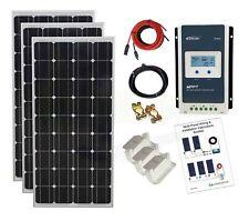 450w Mono Solar Panel Kit MPPT controller battery charging cable bracket K4M 24V