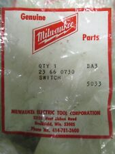 Milwaukee 23-66-0730, Electric Tool Parts Trigger Switch- T423- New