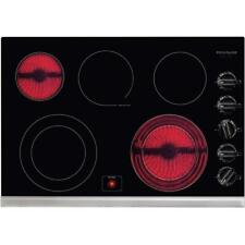 Frigidaire 30-in 5-Element Smooth Surface (Radiant) Black Electric Cooktop