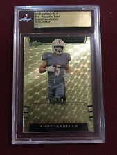 Andy Isabella 2019 Leaf Metal Draft Super Prismatic Gold Rookie Card 1/1 Slabbed