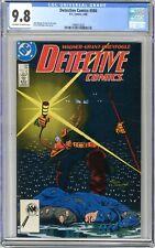 Detective Comics  #586  CGC  9.8  NMMT  Off- white to wht pgs  5/88 John Wagne