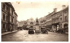 Postcard The Square Shrewsbury Shropshire Vintage Cars Early Photochrom X