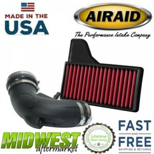 Airaid Synthetic Junior Cold Air Intake System Fits 2018 Ford Mustang GT 5.0L V8