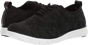 Propet Men's Seth Oxford Casual Sneaker, Black/Grey ( 9 Extra Wide )
