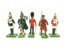 Vintage W BRITAIN Toy Soldiers Lot of 5 - 1988 1990