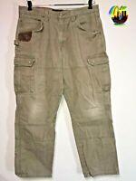 WRANGLER RIGGS WORKWEAR MEN'S RIPSTOP CARPENTER Pants , BARK, SIZE 36W X 32L