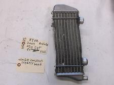 KTM 2009 250 SXF Radiator Used H-625