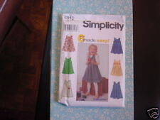 Simplicity pattern 8812 childs jumper Size A3,4,5,6,7,8